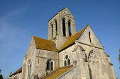 The Saint Germain church of Clery en Vexin — Stock Photo