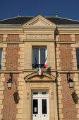 France, the city hall of Mareil sur Mauldre — Stock Photo