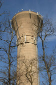 France, water tower of Aubergenville — Stock Photo