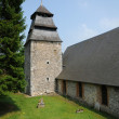 The historical church of Rosay sur lieure in Eure - Foto de Stock