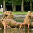France, Bassin du Char d Apollon in the park of Versailles palac — Stock Photo