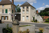 Val d Oise, the village of Omerville — Stock Photo
