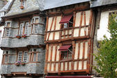Picturesque old town of Lannion — Stock Photo