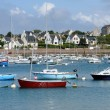 Bretagne, the picturesque port of Ploumanach — Stock Photo