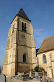 France, church of Orgerus in Les Yvelines — Stock Photo