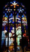 сен-жан дю baly церковь в ланнион — Стоковое фото