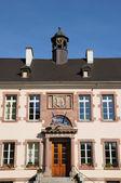 Haut Rhin, the city hall of Thann — Stock Photo