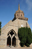 Kirche von saint-jacques in perros-guirec — Stockfoto