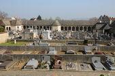 Frankreich, der friedhof von montfort l amaury — Stockfoto