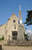 France, the old church of Courdimanche — Stock Photo