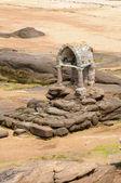 布列塔尼、 圣斯在 ploumanac h granit 经堂 — 图库照片