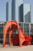 France, modern building in the district of La Defense — Stock Photo
