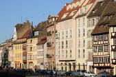 Bas Rhin, old building in Strasbourg — Stock Photo