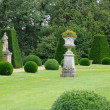 France, the garden of the castel of Breteuil — Stock Photo