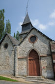 Normandie, the Saint Germain church of Radepont — ストック写真