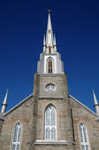 Quebec, the historical church of Riviere du Loup — Stock Photo