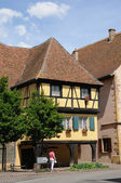 The village of Rouffach in Alsace — Stock Photo