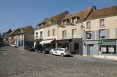 Francie, amaury l vesnice z montfortu — Stock fotografie