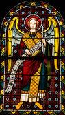 阿尔萨斯,教堂圣莱昂 9 中 eguisheim — 图库照片