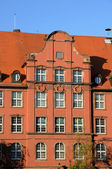 Bas Rhin, old building in Strasbourg — Stock Photo