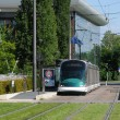 France, tramway in EuropeParliamant distric of Strasbourg — Stock Photo #20044873