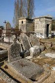 Francia, el cementerio de orgerus en les yvelines — Foto de Stock