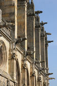 France, the church of Montfort l Amaury — Stok fotoğraf