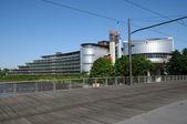 Frankrijk, het Europese Hof van de rechten van de mens in Straatsburg — Stockfoto