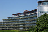 Elzas, het Europese Hof van de rechten van de mens in Straatsburg — Stockfoto