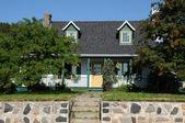 Quebec, the picturesque village of Tadoussac — Stock Photo