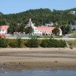 Quebec, the picturesque village of Tadoussac — Stock Photo