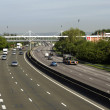 Stock Photo: France, 13 motorway in Les Yvelines