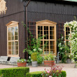 Stock Photo: Garden of Tradgardsforeningen in Gothenburg