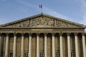 Paris, palais bourbon, franska parlamentet — Stockfoto