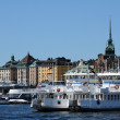Sweden, city of Stockholm and Baltic sea — Stock Photo #20242961