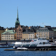 Sweden, the city of Stockholm and the Baltic sea — Stockfoto