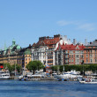 Sweden, the city of Stockholm and the Baltic sea - Stock Photo