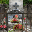 Cemetery in Aquitaine - Stock Photo