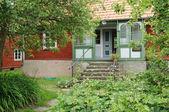Schweden, traditionellen landwirtschaftlichen dorfmuseum himmelsberga — Stockfoto