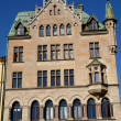 Sweden, old luxurious building in the center of Stockholm — Stock Photo #20304359