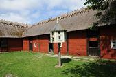 瑞典,传统的农业村博物馆的 himmelsberga — 图库照片