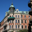 Sweden, old luxurious building in the center of Stockholm — Stock Photo #20312691