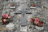 Cementerio en aquitania — Foto de Stock