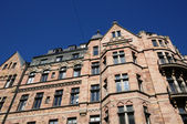 Sweden, old luxurious building in the center of Stockholm — Stok fotoğraf