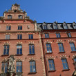 Sweden, old luxurious building in the center of Stockholm — Stock Photo #20392159