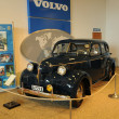 the volvo museum in gothenburg in sweden — Stock Photo