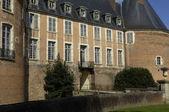 圣 fargeau 在勃艮第的城堡 — 图库照片