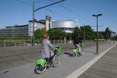 Alsacia, la corte europea de derechos humanos de estrasburgo — Foto de Stock