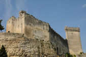 Castle of Beaucaire in Gard — Stock Photo