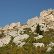 Typical landscapes of Les-Baux-de-Provence — Foto de Stock